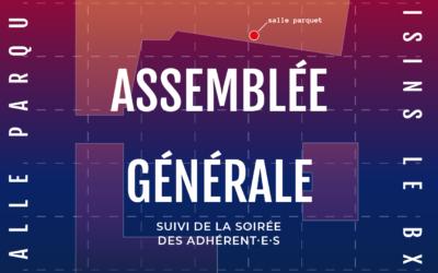 Assemblée Générale Ordinaire & Soirée des adhérent·e·s