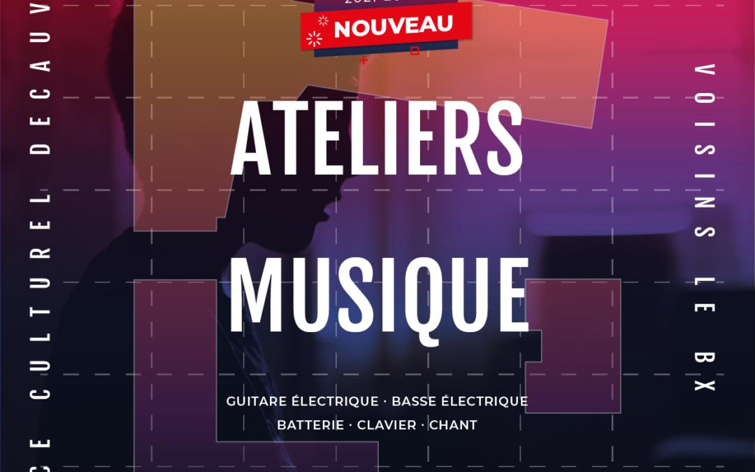 NOUVEAU : Ateliers musique